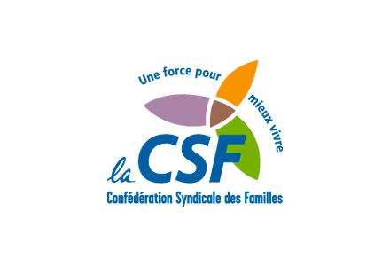 La CSF – Confédération Syndicale des Familles