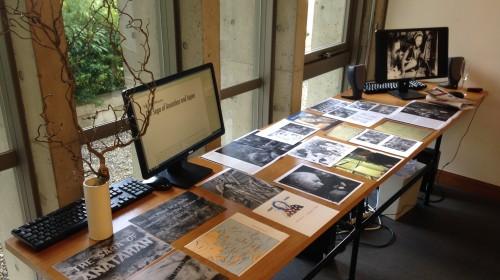 Documents de recherche présentés à la Villa Kujoyama dans le cadre de la Nuit Blanche (3 octobre 2015).