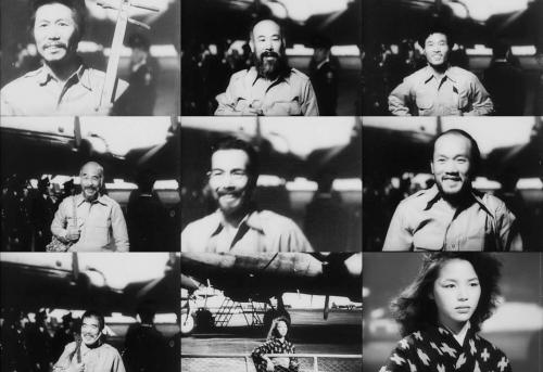 Fin d'Anatahan. Arrivée des sept survivants à l'aéroport, sous les flashes des photographes, puis sous l'œil de Keiko.