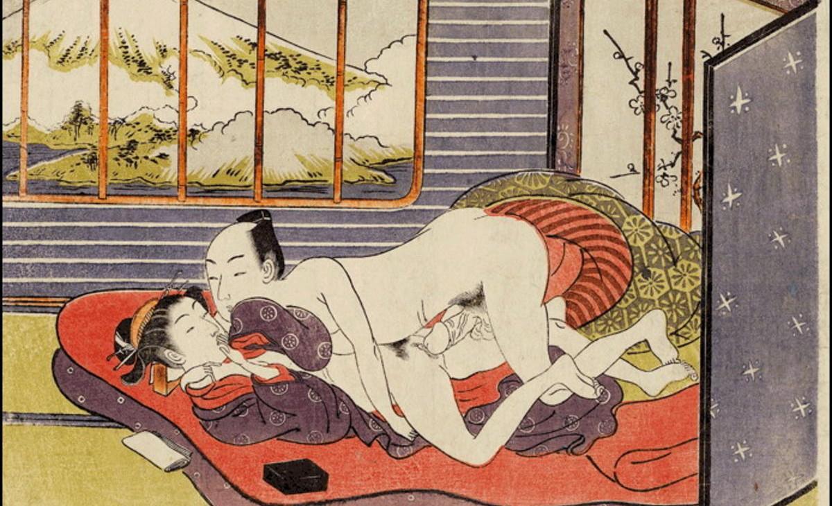 La Courtisane Osen (fin des années 1760), Harunobu Suzuki
