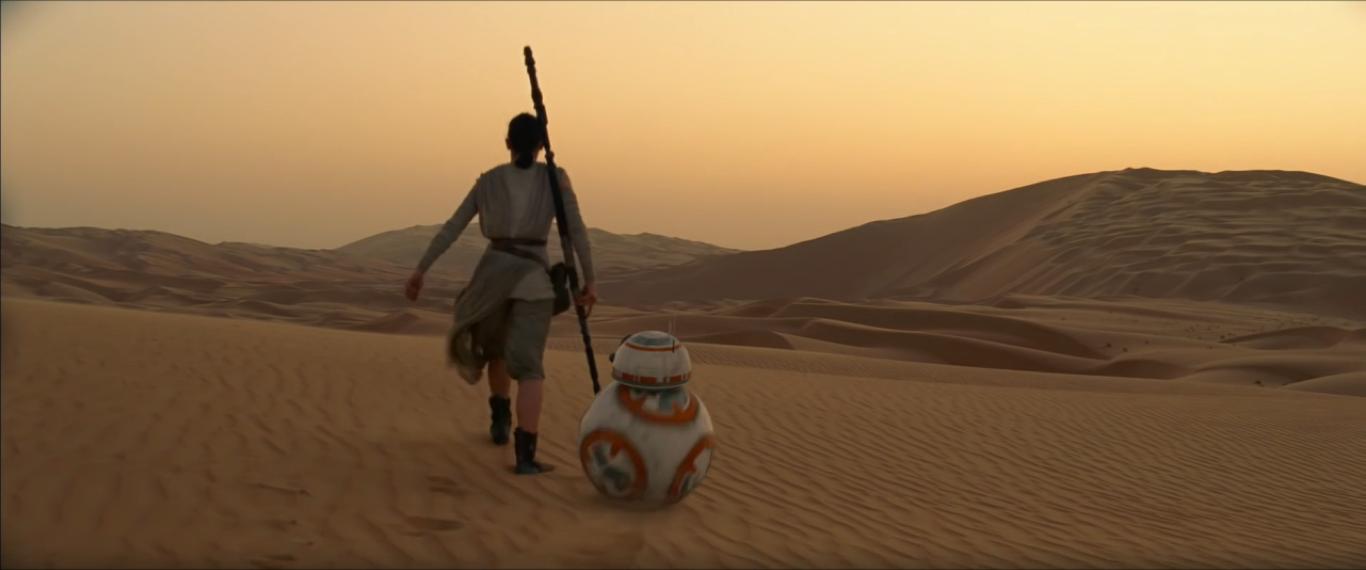 Star Wars 7 : Le Réveil de la force, de JJ Abrams.