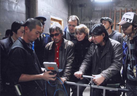 """"""" Une place à prendre """". Sur le tournage de Merde, de Léos Carax, dont il sera question dans la deuxième partie de la conférence."""