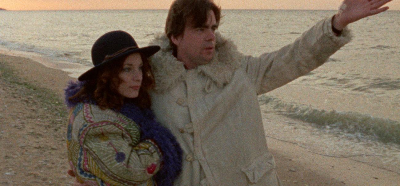 """Michael Lonsdale et Bernadette Lafont dans l""""épisode 4 de Out 1, de Jacques Rivette. Ressortie par Carlotta en 2015."""