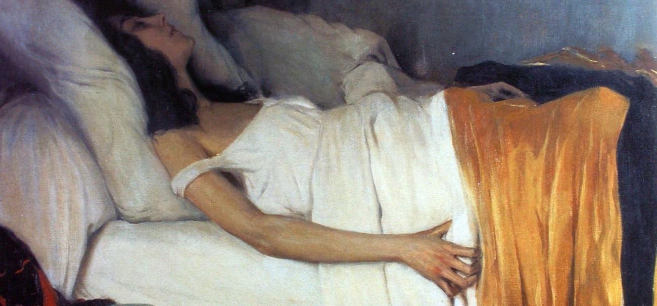 La Morphine (Santiago Rusiñol, 1894).