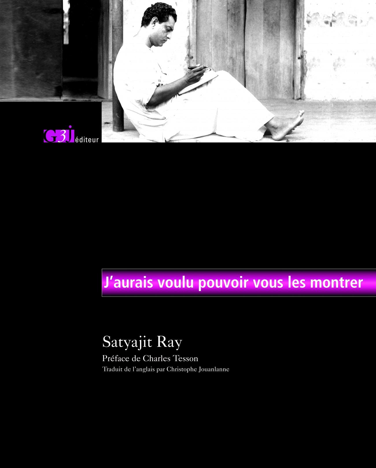 Couverture Satyajit Ray_2016
