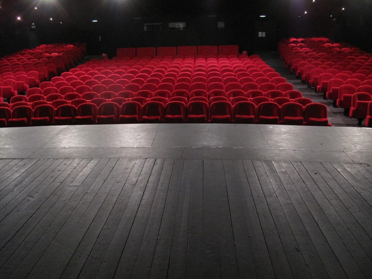 La grande salle du Mercure.
