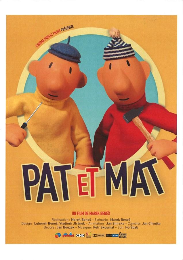 Les Nouvelles aventures de Pat et Mat Affiche