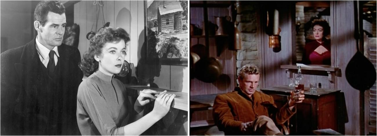 La Maison dans l'ombre / Johnny Guitare (Nicholas Ray, ).