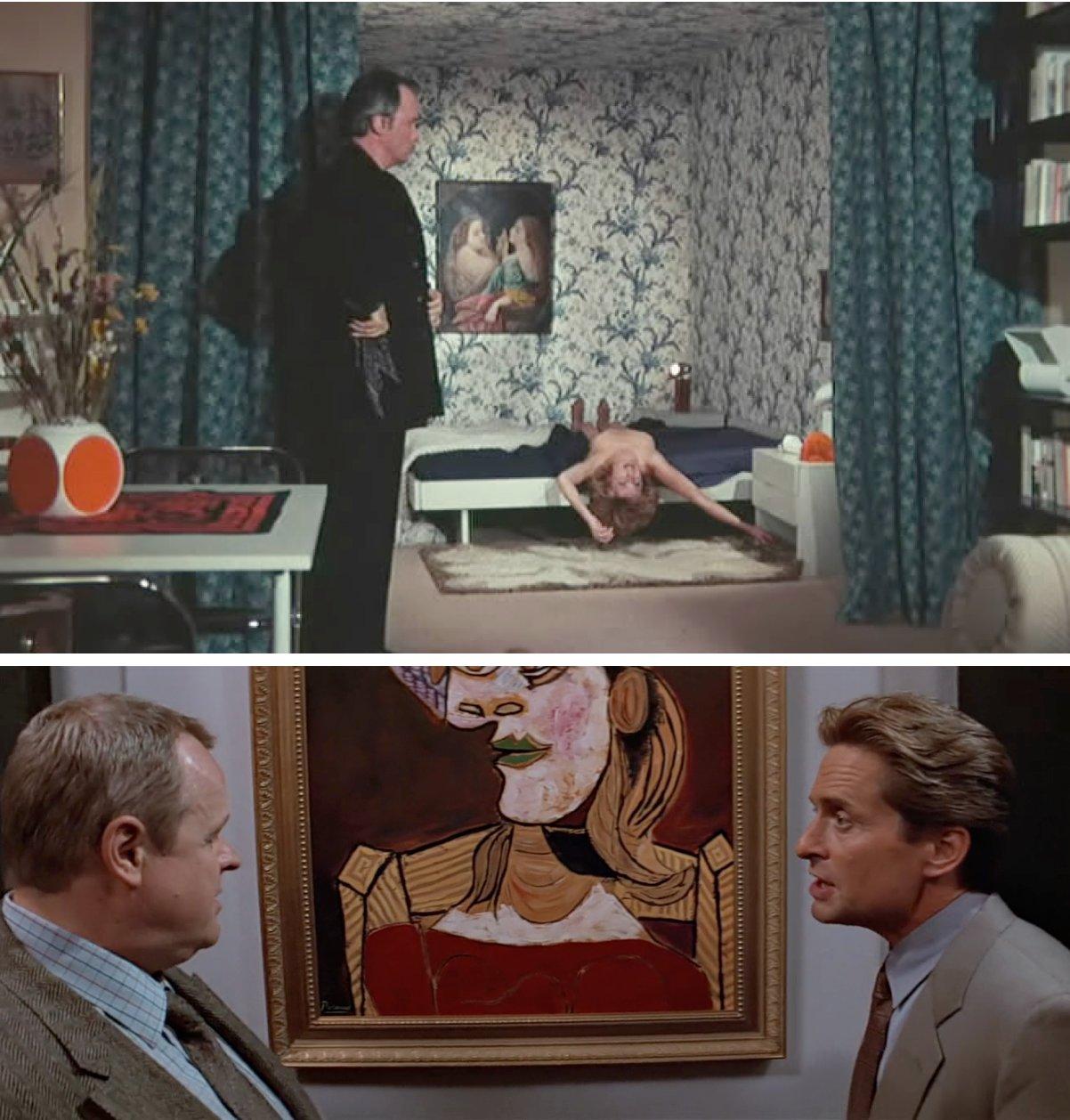 Juste avant la nuit (Claude Chabrol, 1971) / Basic Instinct (Paul Verhoeven, 1992).