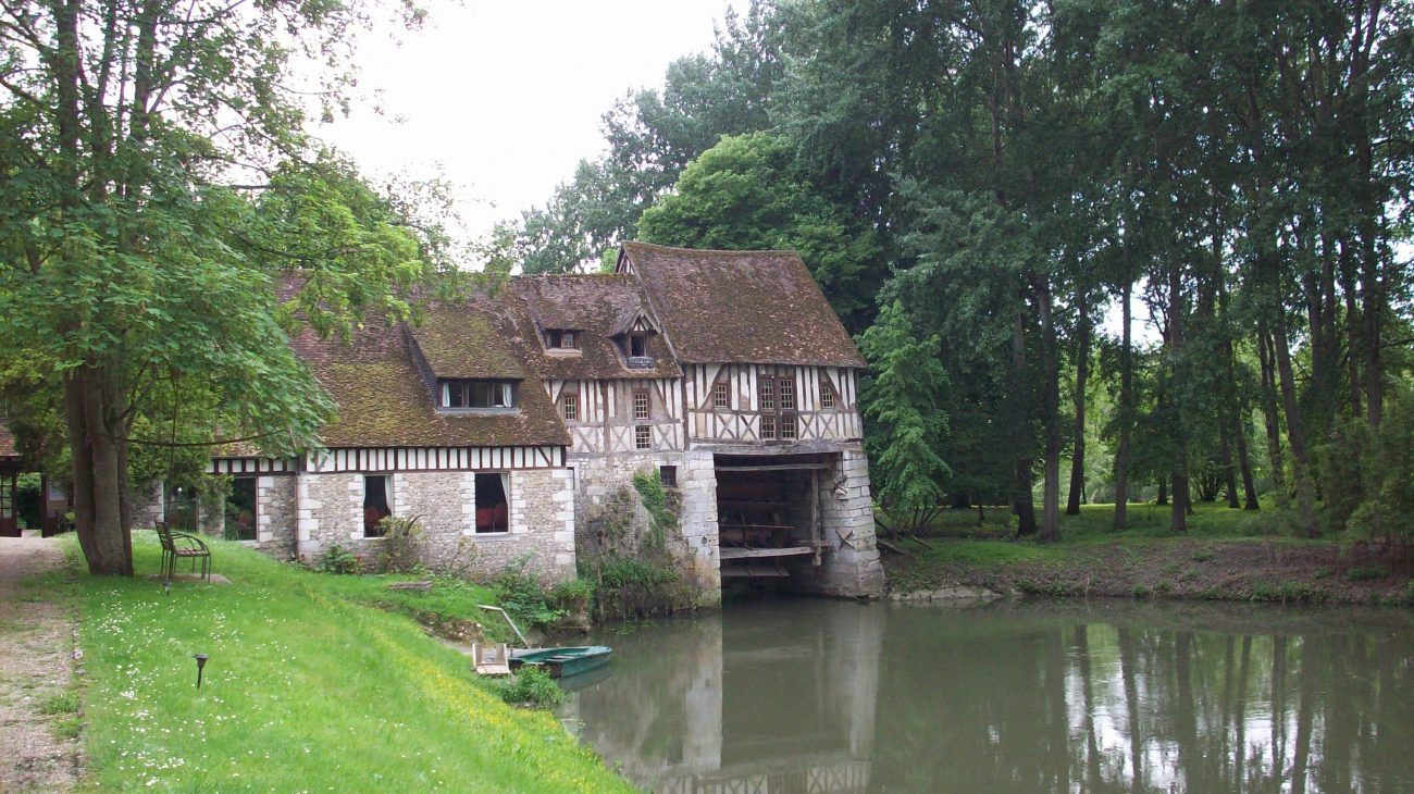 Moulin d'Andé.