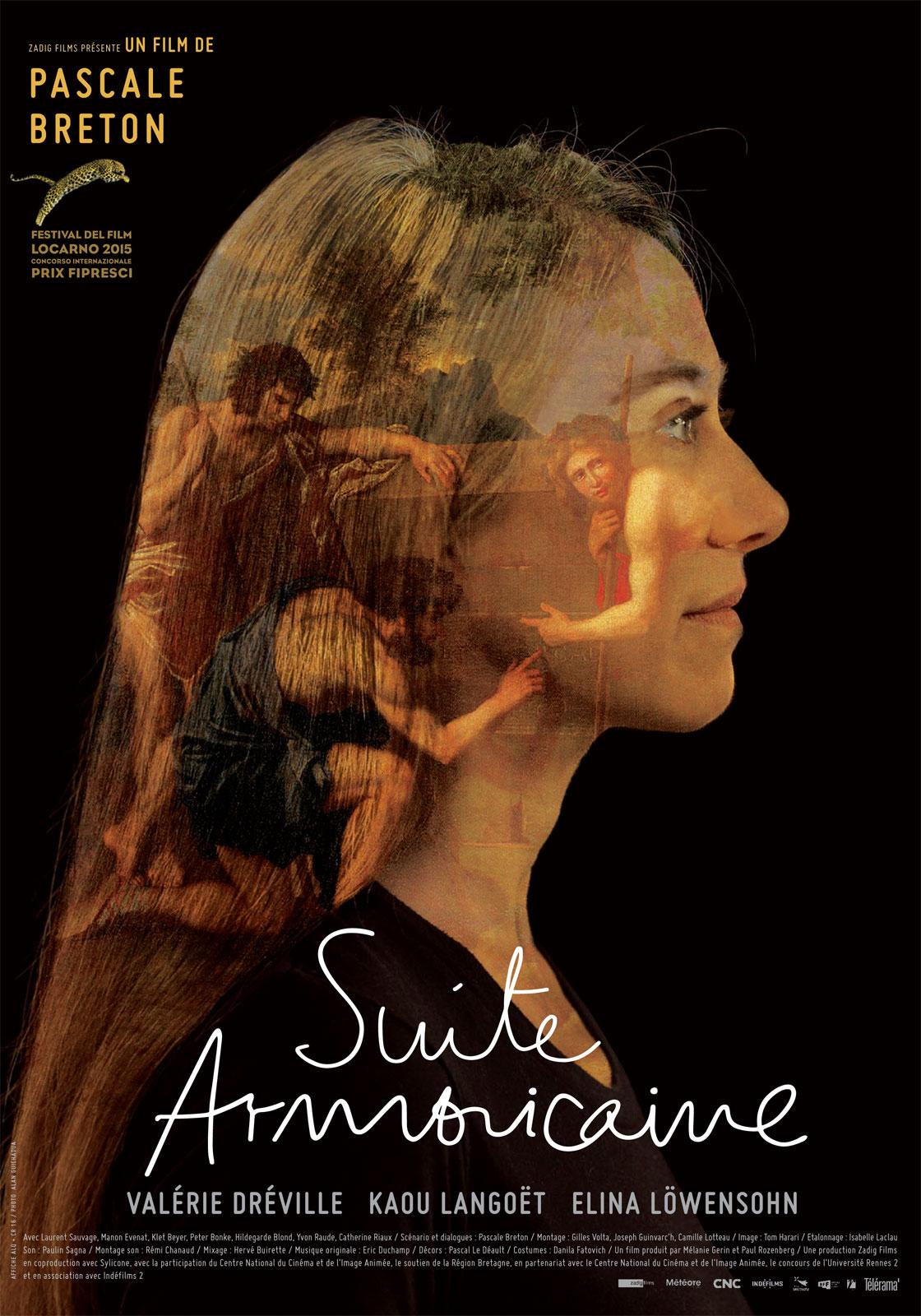 Affiche de Suite armoricaine, de Pascale Breton (2015).