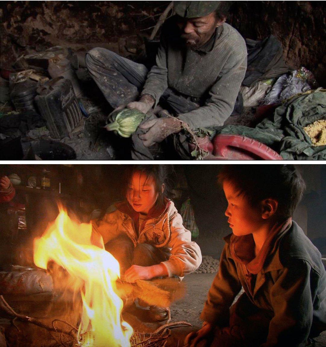 L'Homme sans nom (Wang Bing, 2009) / Les Trois sœurs du Yunnan (Wang Bing, 2013).