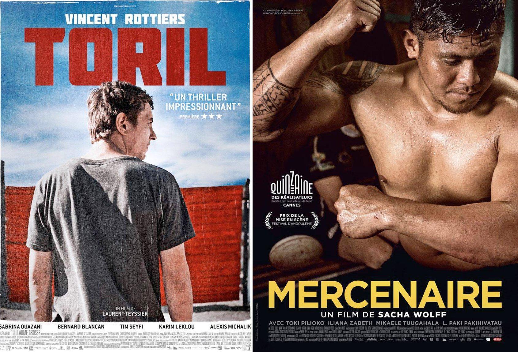 Affiches de films soutenus par la Maison de l'image, et présentés au Café des images.