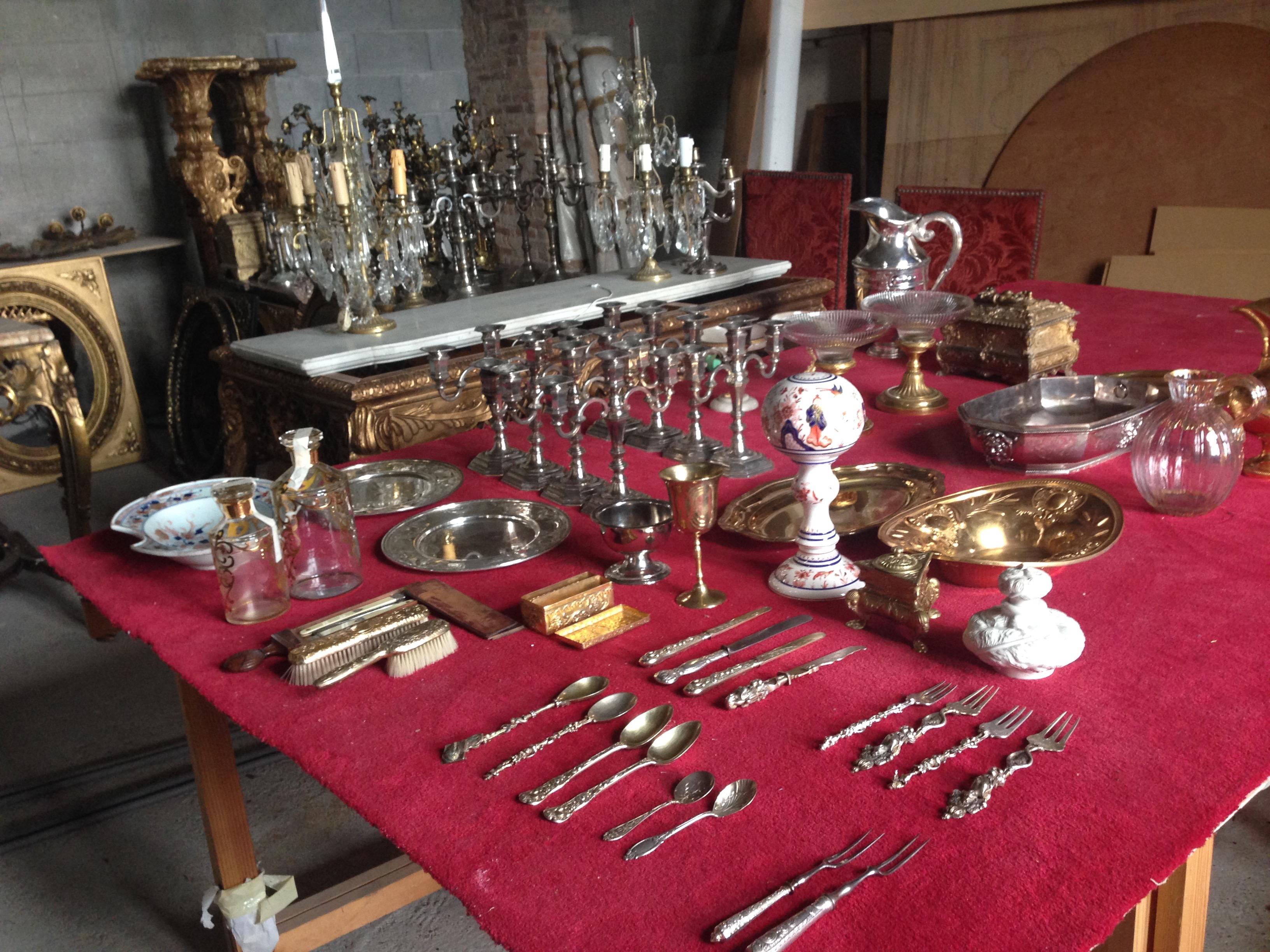 Accessoires de table (photographie de Laura Poulvet).