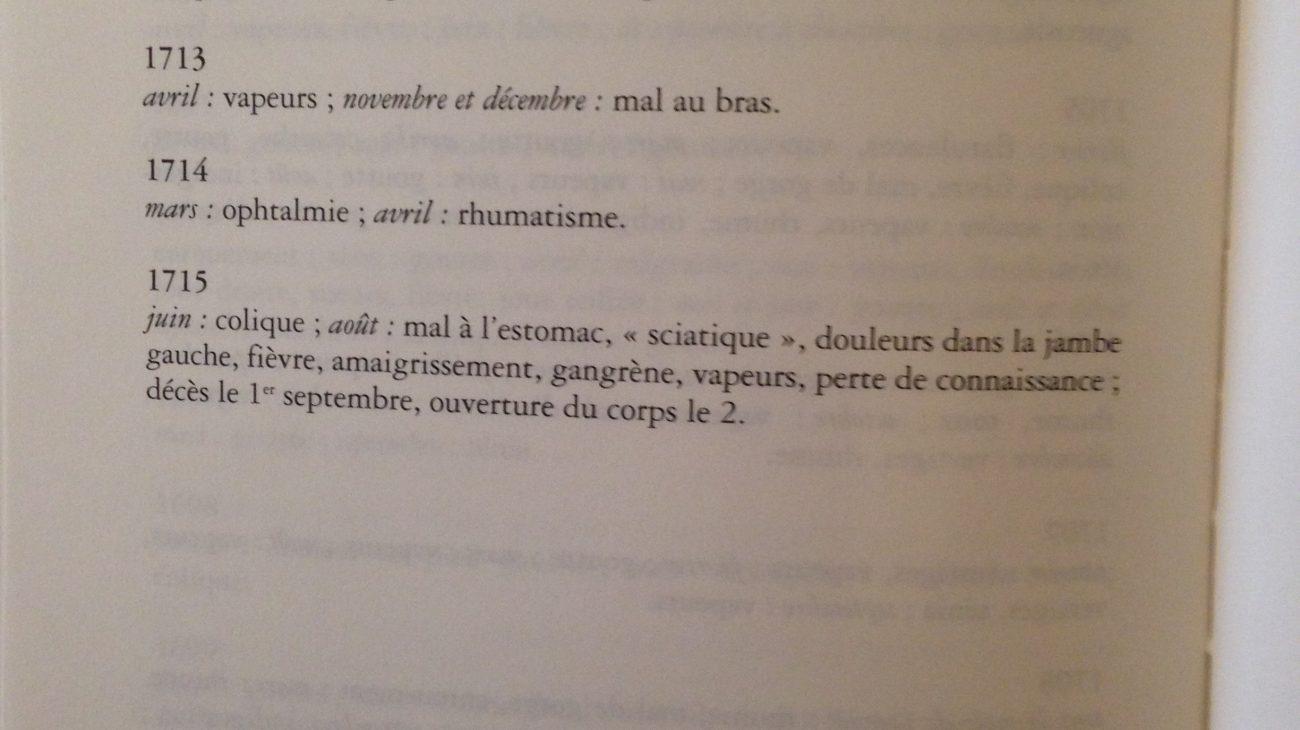 Documents de travail de Laura Poulvet.