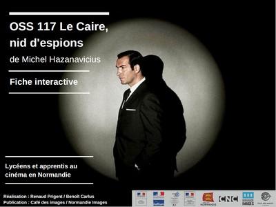 fiche interactive OSS 117 Le Caire nid d'espions
