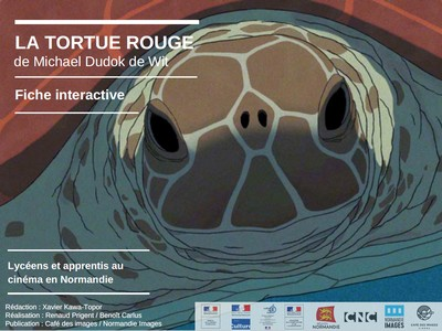 Fiche interactive La Tortue rouge