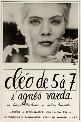 Affiche Cléo de 5 à 7, réalisé par Agnès Varda